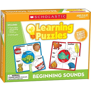 Scholastic Beginning Sounds Learning Puzzles