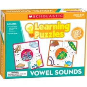 Scholastic Vowel Sounds Learning Puzzles