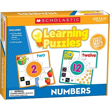 Scholastic Numbers Learning Puzzles