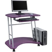 Office Star™ Kool Kolor Student Computer Desk, Purple