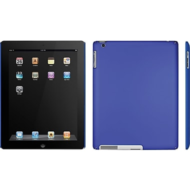 Macally Snap-On Case for iPad™2, Metallic Blue