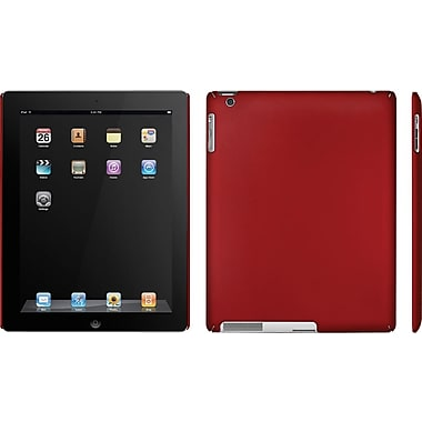 Macally Snap-On Case for iPad™2 , Metallic Red