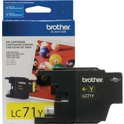 Brother – Cartouche d'encre jaune LC71YS