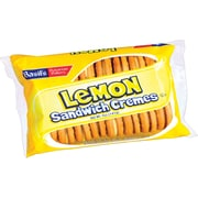 Basil's Bavarian Bakery® Lemon Sandwich Cremes Cookies, 5 oz. Bags, 24 Bags/Box