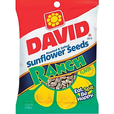 David® Sunflower Seeds Ranch Flavor, 12 Bags/Box