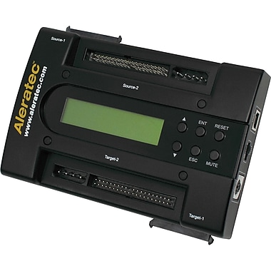 Aleratec™ 1:1 HDD PortaCruiser Hard Disk Drive Duplicator and Dual-Disk RAID Controller