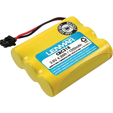 Lenmar Replacement Battery For Cobra, Panasonic, Sharp, Sony, and Uniden Cordless Phones (CBC318)
