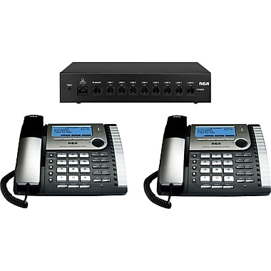 RCA 25800 Visys 8-Line Corded Integrated Telephone System