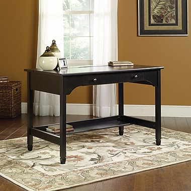 Sauder® Edge Water Writing Desk, Black