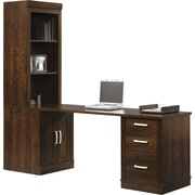 Sauder® Office Port Library Return, Dark Alder