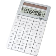 Canon® X Mark I 12-Digit Display Calculator, White