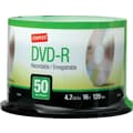 Staples 50/Pack 4.7GB DVD-R, Spindle