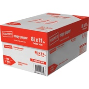 Staples® Copy Paper, 8 1/2in. x 11in., Case