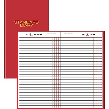 "2014 AT-A-GLANCE® Standard Diary® Daily Journal, 7 11/16"" x 12 1/8"""