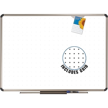 Quartet® Prestige Total Erase Euro-Style Board, 48