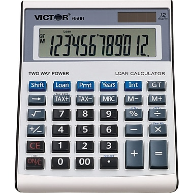 Victor® VCT-6500 Loan Calculator