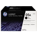 HP 05A Black Toner Cartridge (CE505D), Twin Pack