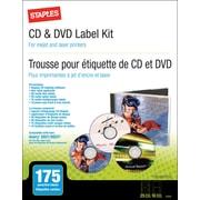 Staples® - Trousse d'étiquettes pour CD/DVD