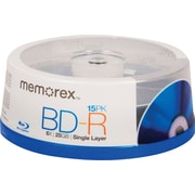Memorex 6x BD-R 25GB 15 Pack Spindle