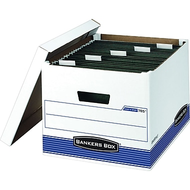 Bankers Box® Hang 'N' Stor™ Letter/Legal File Box (7850)