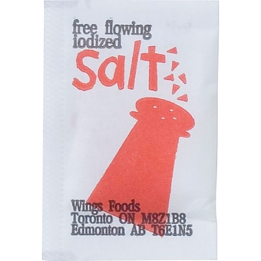 Salt Packets, 6000/Case