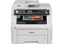 Brother® Refurbished EMFC-9325cw Color Laser All-in-One Printer