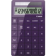 Canon X Mark I 3982B022AA 12-Digit Display Calculator, Purple