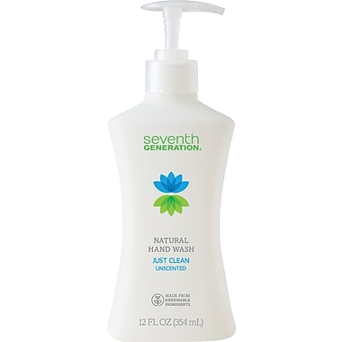 Seventh Generation Just Clean Unscented Hand Wash