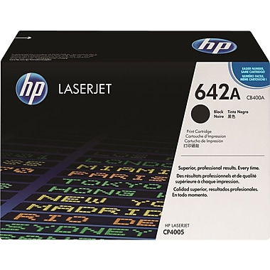 HP 642A (CB400A) Black Original LaserJet Toner Cartridge