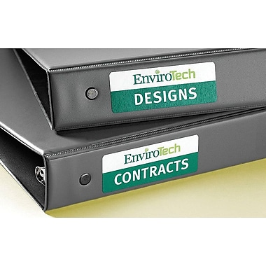 Avery® 6471 Easy Peel® Print-to-the-Edge White Organization Labels,1in. x 2-5/8in., 160/Box