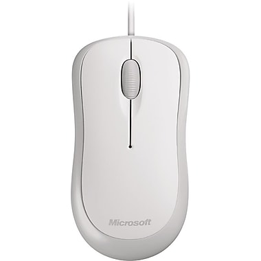 Microsoft Basic Optical Mouse (White)