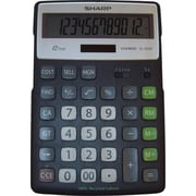 Sharp® EL-R297BBK 12-Digit Display Calculator