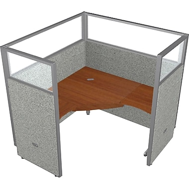 OFM® RiZe™ Panel Single Workstations