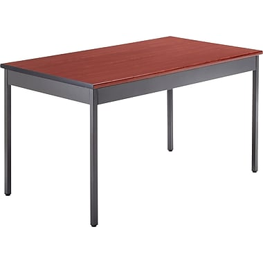 OFM 4' x 30in. Utility Table, Cherry