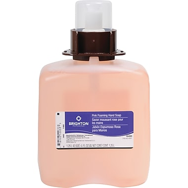 Brighton Professional™ Cranberry Foam Soap Refill, 1,250 ml., 3/Case