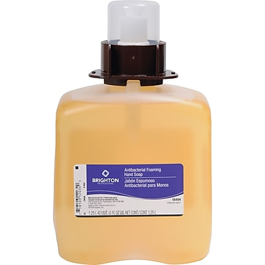 Brighton Professional Orange Foam Soap Refill, 1,250 ml., 3/Case