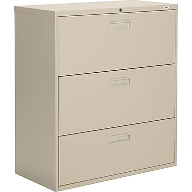 Staples® Lateral File Cabinets, 3-Drawer