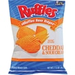 Ruffles® Cheddar & Sour Cream Potato Chips, 1.5 oz. Bags, 64 Bags/Box
