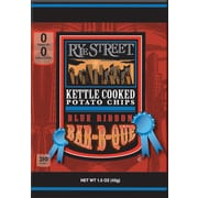 Rye Street® Kettle Cooked Blue Ribbon Bar-B-Que Potato Chips, 1.5 oz. Bags, 55 Bags/Box