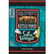 Rye Street® Kettle Cooked Salt & Vinegar Potato Chips, 1.5 oz. Bags, 55 Bags/Box
