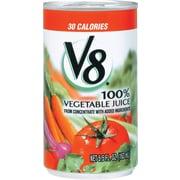 V8® 100% Vegetable Juice, 5.5 oz. Cans, 48/Case