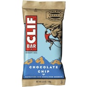 Clif® Bars Chocolate Chip, 2.4 oz. Bars, 12 Bars/Box (CCC160004)