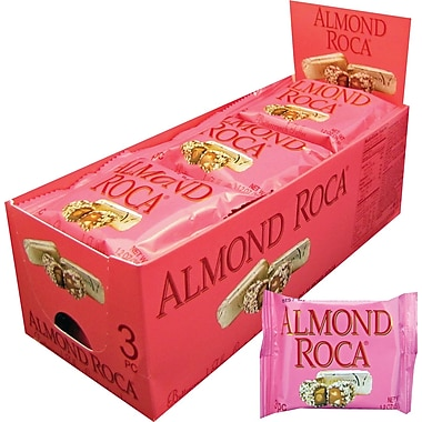 Almond Roca® Buttercrunch Toffee, 1.2 oz. Packs, 12 Packs/Box