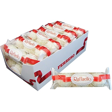 Ferrero Raffaello® Almond Coconut Treats, 1 oz. Packs, 12 Packs/Box