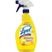Lysol All Purpose Cleaner with Complete Clean Trigger Spray, Lemon, 650mL