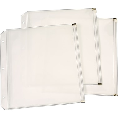 Cardinal® Zipper Binder Pockets