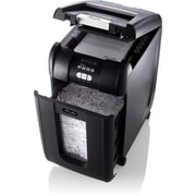 Swingline® Stack-and-Shred™ 300X, 1757576, 300 Sheets, Super Cross-Cut, Auto Feed Shredder, Black