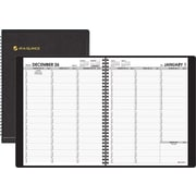 "2014 AT-A-GLANCE® Weekly Appointment Book, Black, 8 1/4"" x 10 7/8"""
