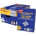 Staples® FSC-Certified Multiuse Bright White Paper, 22 lb., 8 1/2in. x 11in.