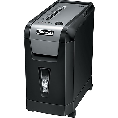 Fellowes Powershred 69CB 10-Sheet Jam Blocker Cross Cut Shredder